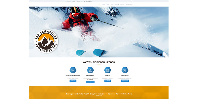 Skipastory - Jan Bruyninckx Logo Digital Analyst Scrum Master Website Developer DPO Politician