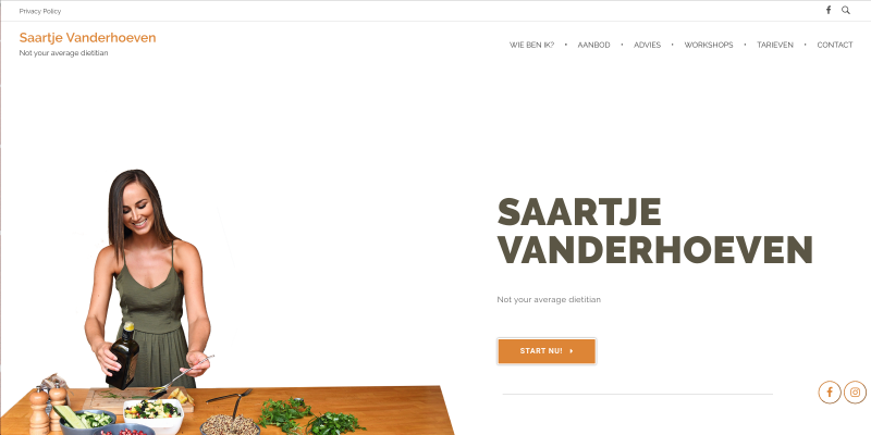 Saartje Vanderhoeven - Jan Bruyninckx Logo Digital Analyst Scrum Master Website Developer DPO Politician